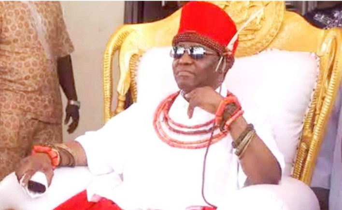 Oba of Benin welcomes new princess