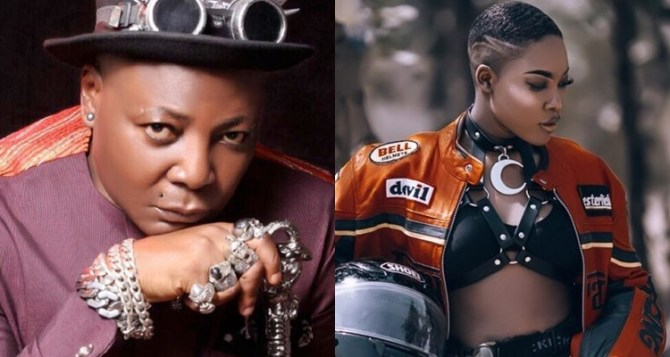 Charly Boy reacts to his daughter calling him out on social media