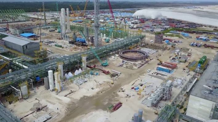 Dangote Refinery reaches 80 per cent completion