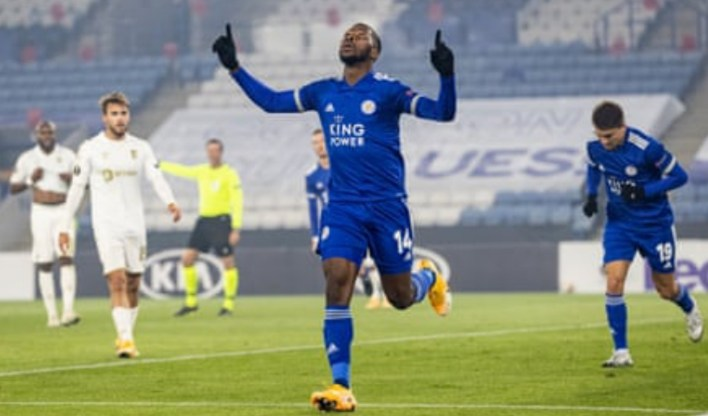 Europa: Iheanacho bags brace, assist in Leicester's victory against Sporting Braga