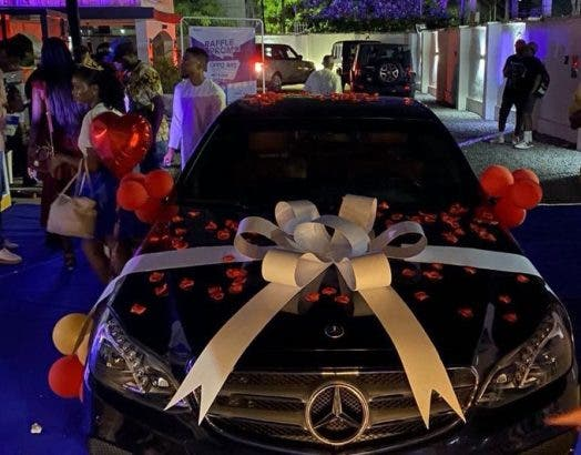 Fans Gift Laycon Mercedes Benz On 27th Birthday (Photos)
