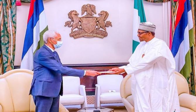 Buhari receives Chadian Envoy, pledges support for Chad