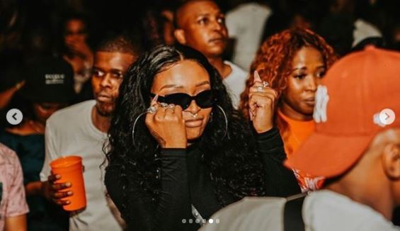 Goals! DJ Murdah and DJ Zinhle party hard over the weekend – Photos