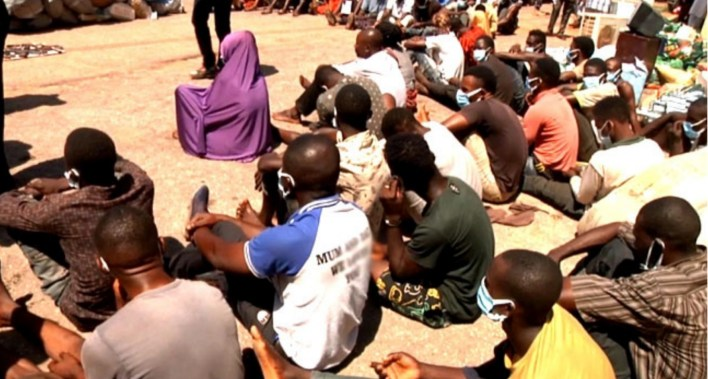 Kaduna Police arrest 93 suspects for looting, recovers items