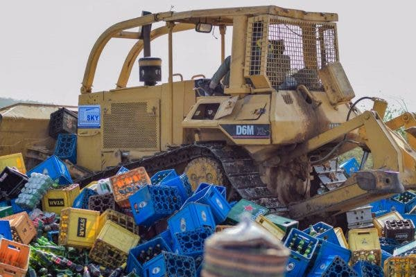 Hisbah Destroys N200 Million Worth Of Beer In Kano