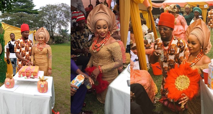 Photos: Ultimate Love's Chris Adah and Chris Obaoye weds