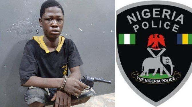 Police nab 19-year-old suspected robber with dummy gun in Lagos
