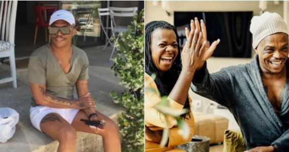 Somizi and Judith Sephuma finally drop African Christmas single
