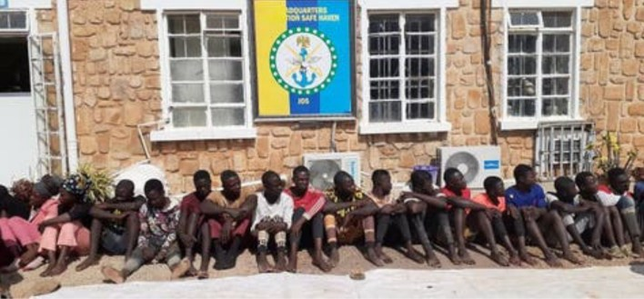 Taskforce parades 27 suspected cultists in Jos