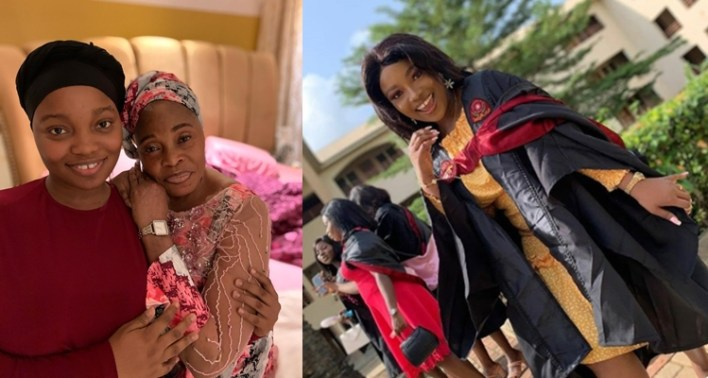 Tope Alabi celebrates beautiful daughter as she graduates with flying colours (Photos)