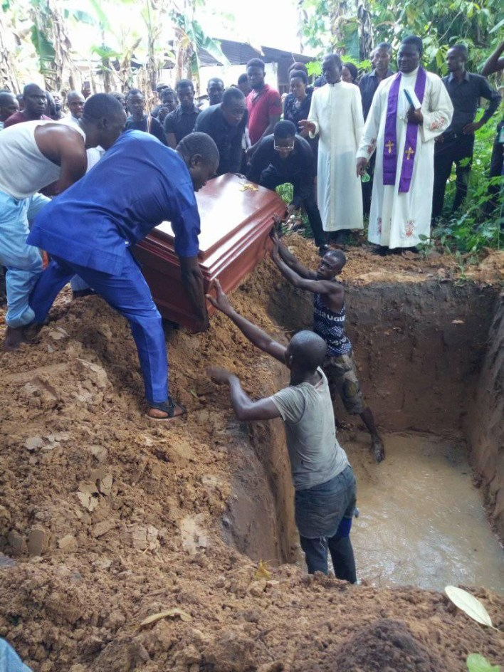 PHOTOS: Tragedy As Two Final Year Delta State Poly Students Die In Ghastly Accident En-route Graduation Party