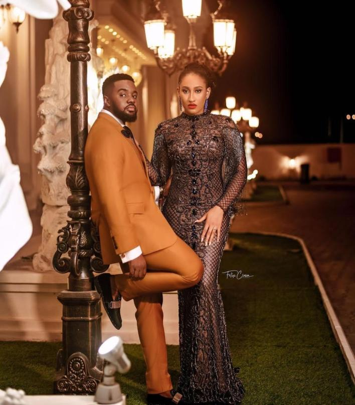 Williams Uchemba shares stunning pre-wedding photos with fiancee, Brunella, ahead of their wedding