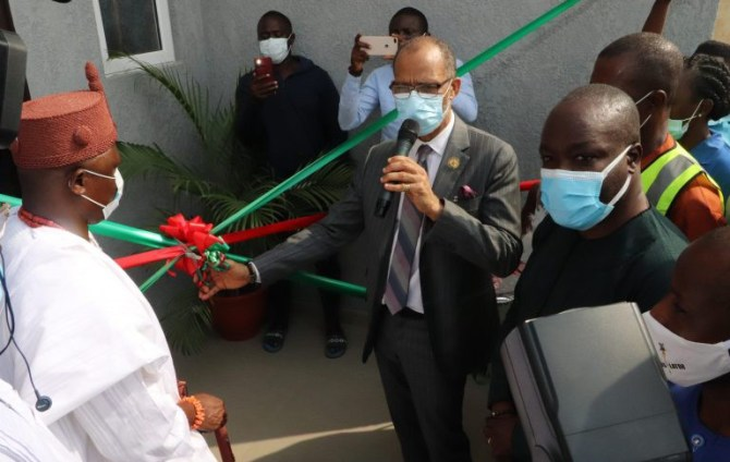 Lagos commissions COVID-19 triage, oxygen therapy centre