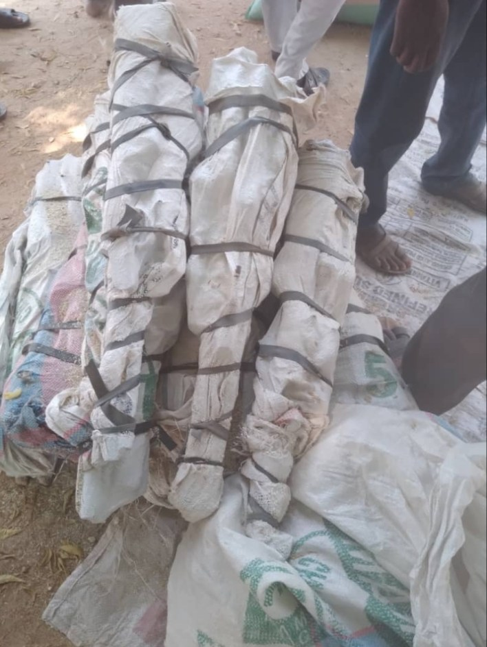 PHOTOS: Customs seizes 73 firearms, ammunition in Kebbi