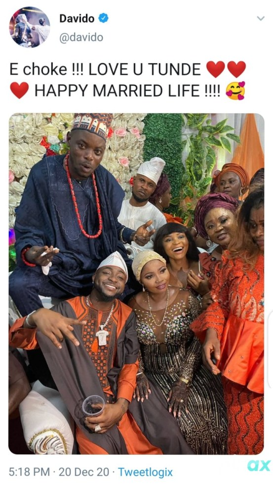 Davido Attends Driver's Wedding Thrills Guests With Amazing Performance (Video/Photos)