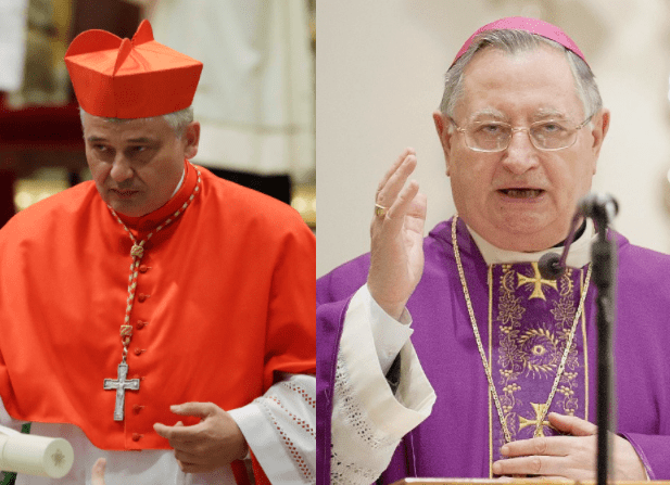 Two cardinals close to Pope Francis test positive for Covid-19