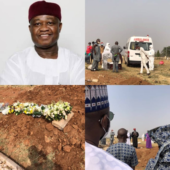 PHOTOS: Leadership newspaper publisher, Sam Nda-Isaiah laid to rest