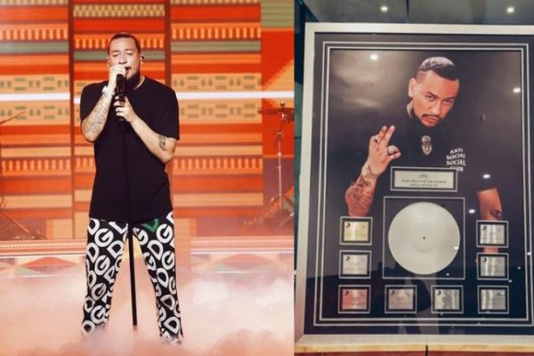 """AKA unveils receipt for being the """"highest selling SA hip hop artist of all time"""""""
