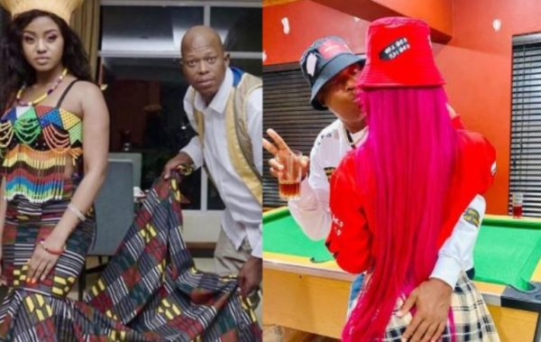 """Babes Wodumo gushes over her """"forever and husband-to-be"""""""