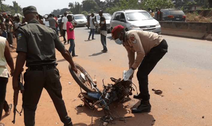 Okada rider killed by speeding Hilux driver in Anambra