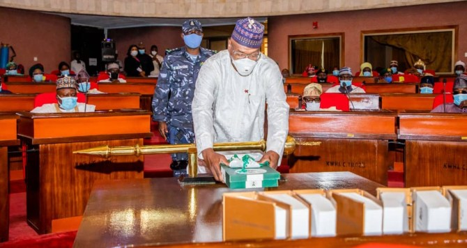 Kwara Gov presents N123 billion budget to Assembly