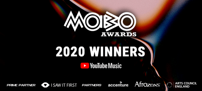Check out full winners list on MOBO Awards 2020