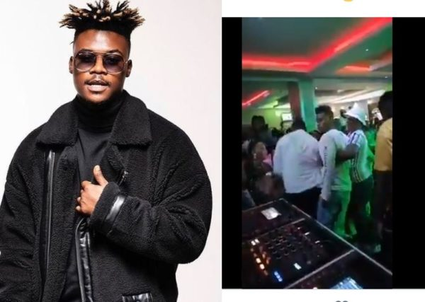 """Viral video of """"drunk"""" Mlindo at a gig causes chaos on social media"""
