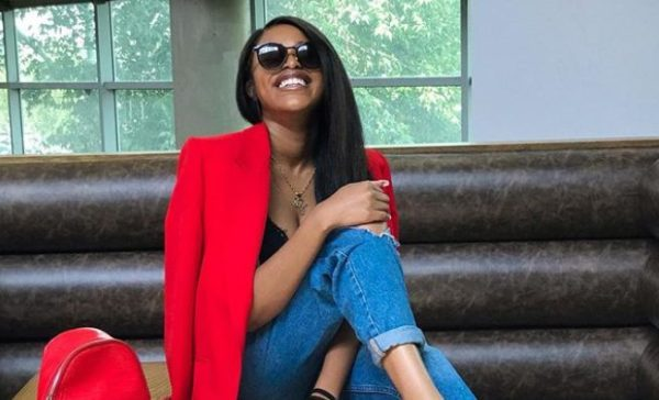 Natasha Thahane reveals her dad bought her Christmas clothes