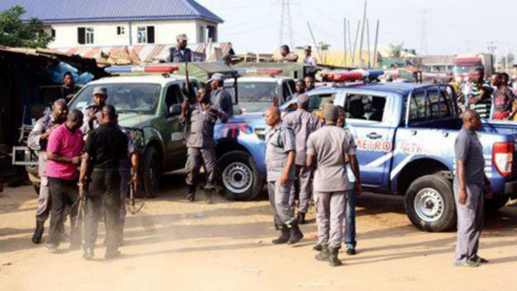 Three feared killed as customs clash with suspected smugglers in Ogun
