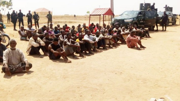 Army parade 66 suspected criminals in Nasarawa