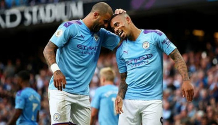 Manchester City's Jesus, Walker test positive for COVID-19