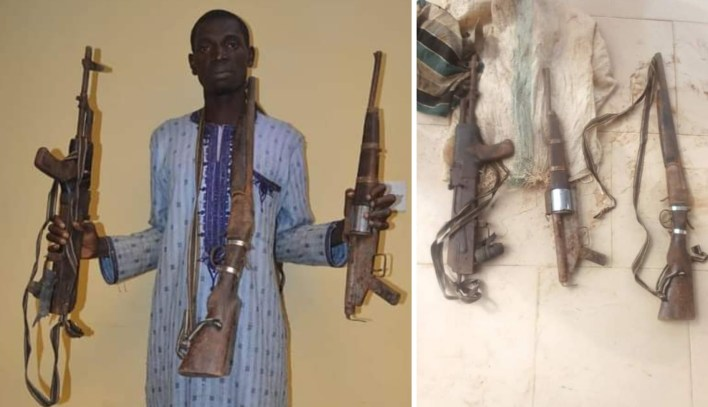 Kano Police nab armourer of kidnap syndicate who abducted expatriate, killed police sergeant two years ago