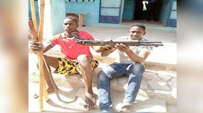 Kano Police arrest notorious armed robbery suspects, recover riffle