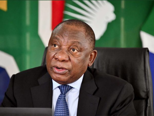 President Cyril Ramaphosa to address the nation at 8pm today