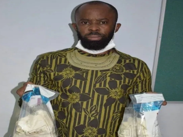 Brazil-based Elechi, home for wedding in January, arrested with cocaine in Abuja