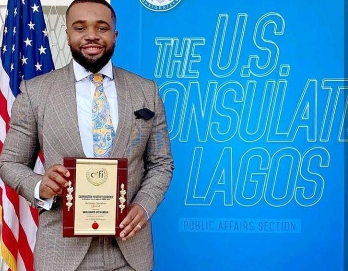 U.S. Consulate Awards Actor, Williams Uchemba