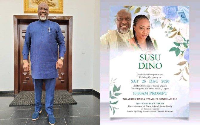 Dino Melaye disowns viral 'wedding invite', calls it photoshop