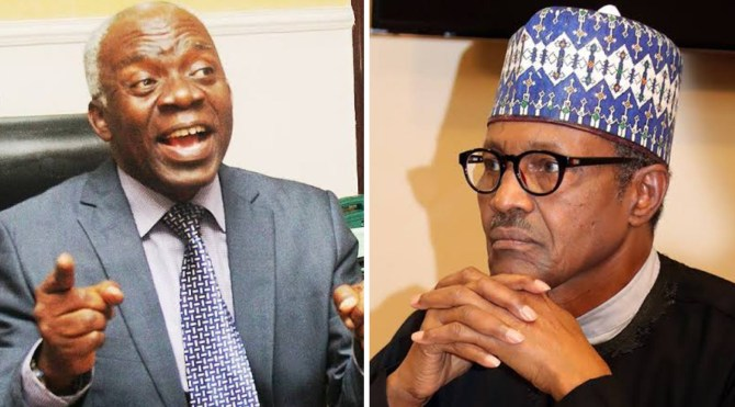 Falana to Buhari: Honor N'assembly summons and don't embarrass yourself