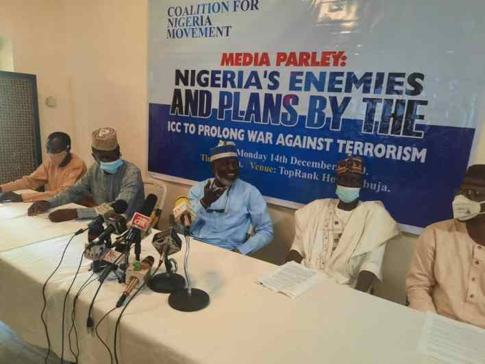 ICC, AI, others plotto prolong war against insurgency and terrorism in Nigeria — CNM