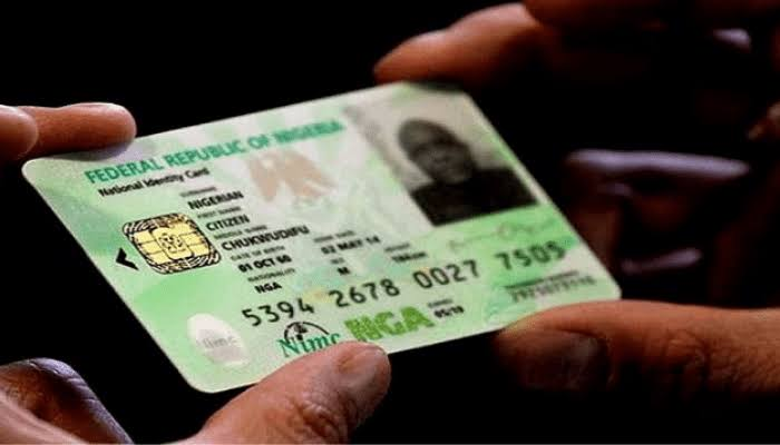 JUST IN: FG orders cancellation of N20 National Identification Number retrieval charges