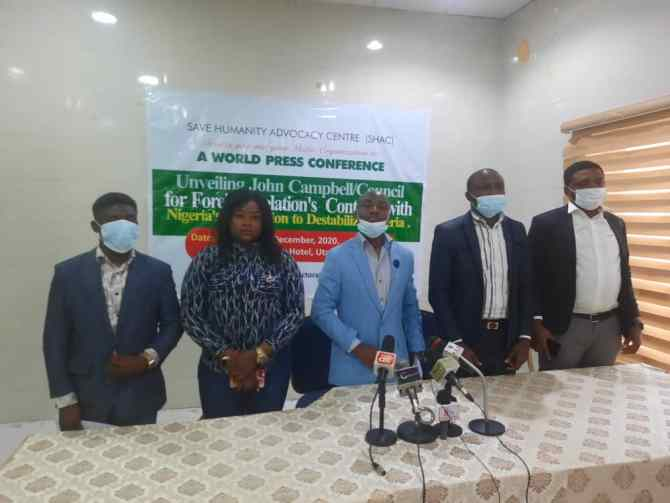Insecurity: How opposition recruited John Campbell, CFR to run subversive agenda against Nigeria – SHAC