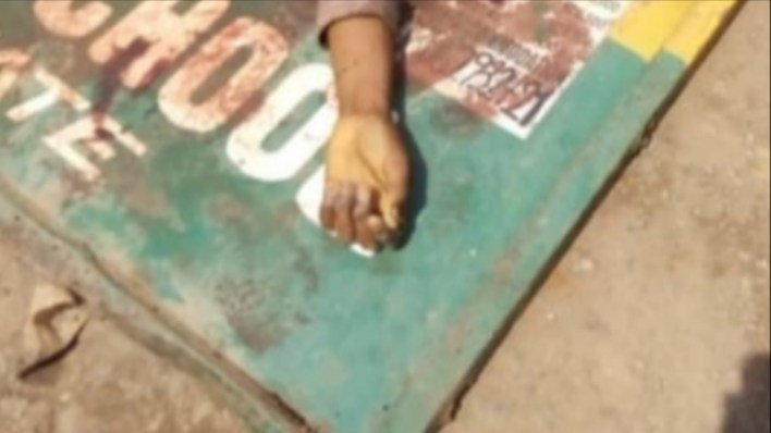 PHOTOS: Police officer allegedly shot dead Okada rider for not wearing a face mask in Imo