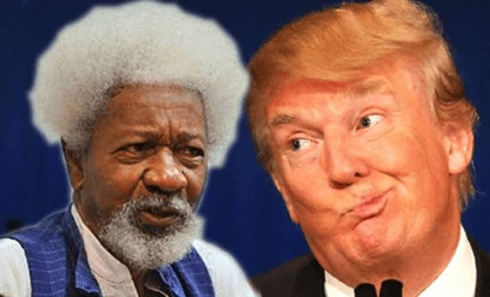 Soyinka calls Trump a monster president, speaks on renewing his US green card