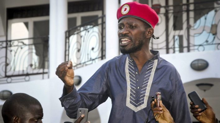 Ugandan presidential candidate, Bobi Wine raises alarm over military siege at his home