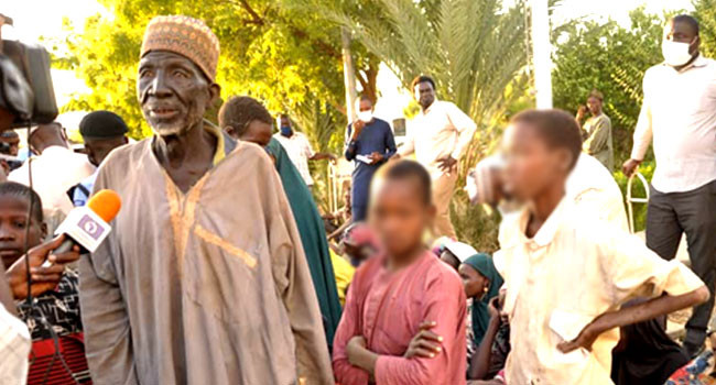 Over 100 kidnapped persons rescued in Katsina state
