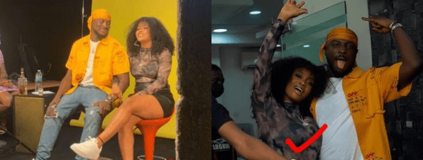 PHOTOS: Liya, DMW first lady and Davido's newly signed artiste among clubgoers arrested at Lagos club