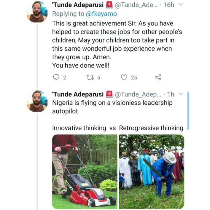 Festus Keyamo reacts after Twitter users drag him for distributing cutlasses to Nigerians as empowerment