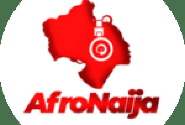 Photo of Omawumi's family as she celebrates her husband's birthday