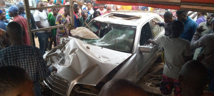 PHOTOS: Two die in fatal accident in Ondo