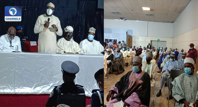 Pictures from meeting of Governors with Miyetti Allah leadership in Akure emerge